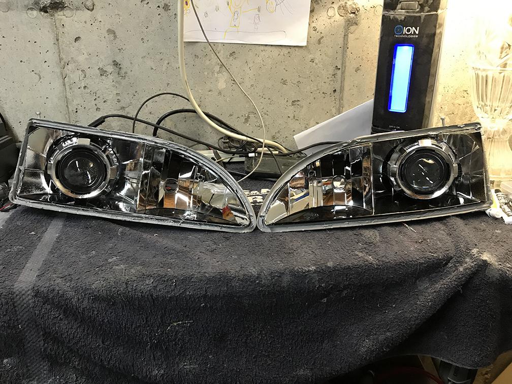 1996 Toyota Camery Headlight Retrofit