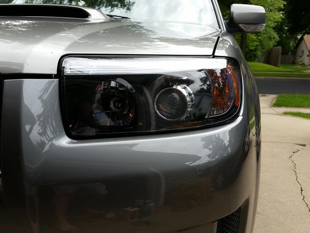 2004 Suabru Forester Headlight Retrofit