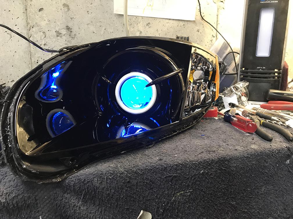 2006 Mitsubishi Eclipse Headlight Retrofit