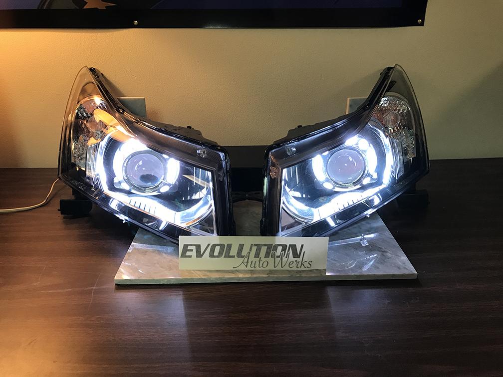 2015 Chevy Cruze Headlight Retrofit