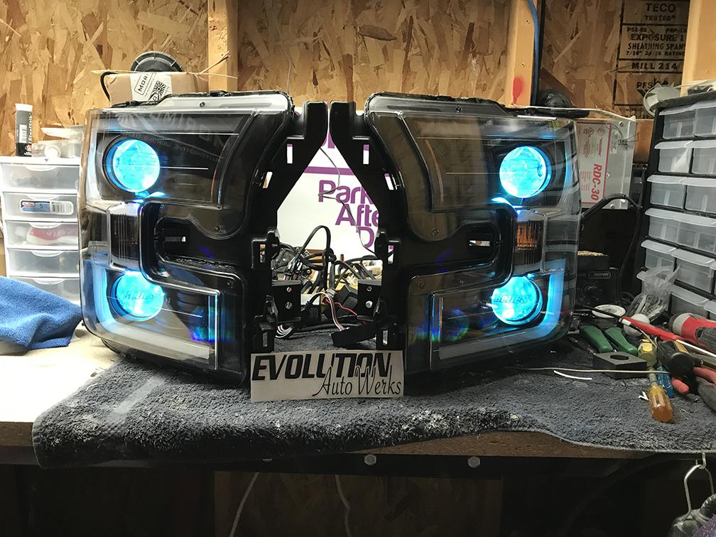 Ford F150 Headlight Projector Retrofit - Evolution Auto Werks